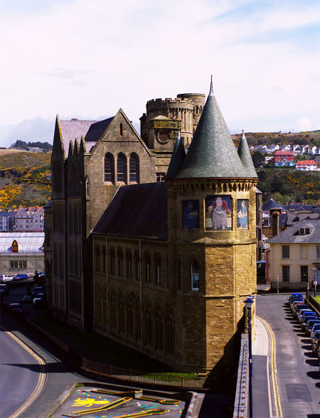 Wales: Chepstow, Caerphilly and Aberystwyth