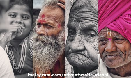 Portraits of Pandharpur