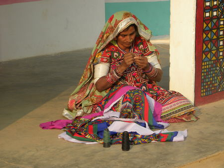 Check out the hidden villages of Kutch which will surprise you with their artistic charm