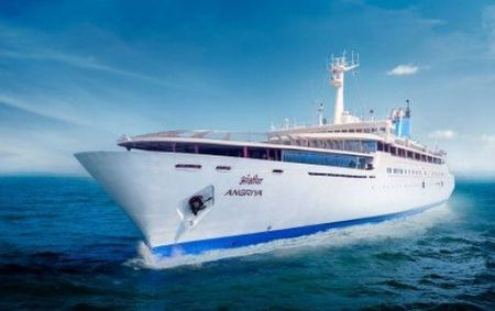 Angriya Cruise: Mumbai-Goa luxury cruise with Capacity of 400 passengers