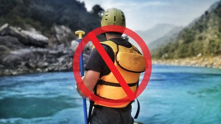 No More River Rafting In Rishikesh!!