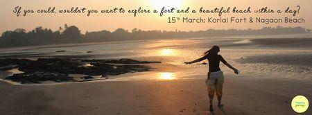 One Day Trek to Korlai Fort and Nagaon Beach (Near Alibaug)