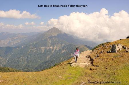 Bhaderwah – A Trekkers Paradise.