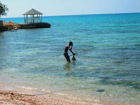 Heading For The Waters: South Coast, Jamaica