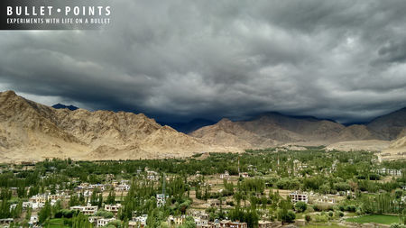 Bullet Points (part I) - Kanyakumari to Kashmir - Beginning With the End