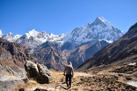 Dhal Bhat Power 24/7!  Annapurna Base Camp /ABC & Poon Hill Trekking