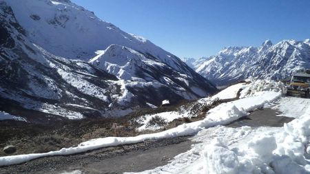 Yumesamdong: The land of perennial snow in North Sikkim