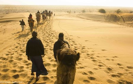 A date in the Thar Desert with Shahrukh