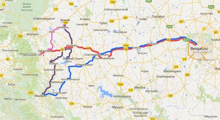 1000 Kms long weekend