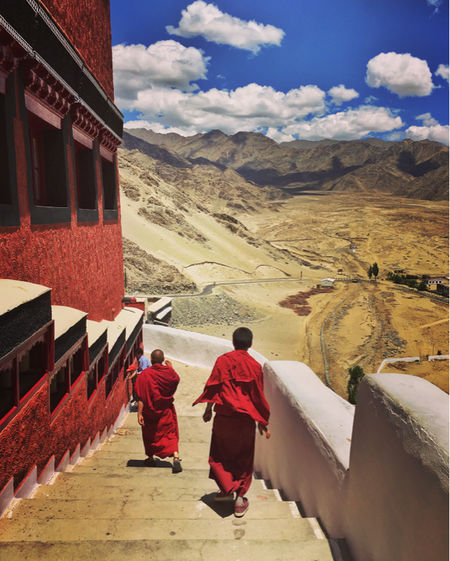 Monks, Monasteries And Chortens Of Ladakh