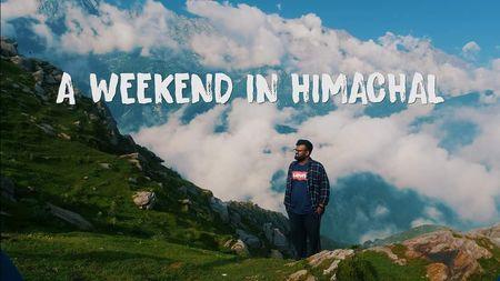 vlog_02 A Weekend In Himachal   Triund Trek