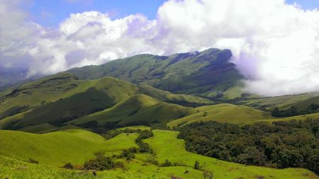 Trek to the Horse's face - Kudremukh