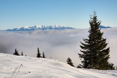 The Small Fatra, Slovakia - winter hike through the Snilovske pass