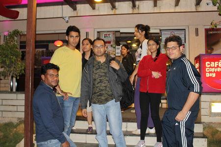 Night Trek to Anthragange Karnataka