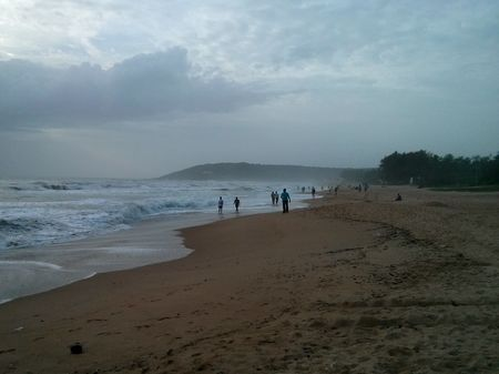 Goa Monsoon 2015 - Beach resorts in Baga and Calangute
