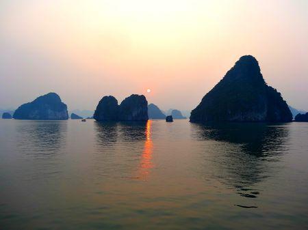 Where dragons once belonged: Halong Bay