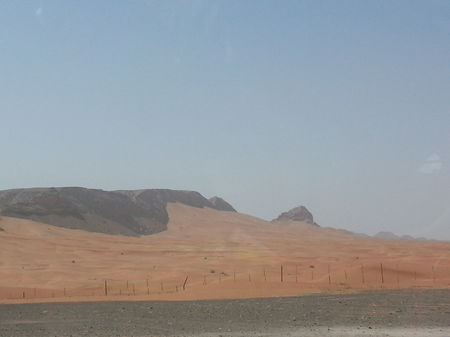 Drive amidst desert, mountains and beaches at Fujairah, UAE