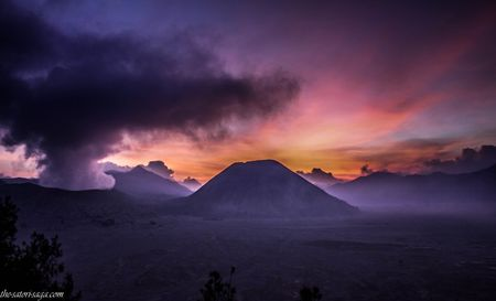A Rendezvous with an Active Volcano: Mount Bromo