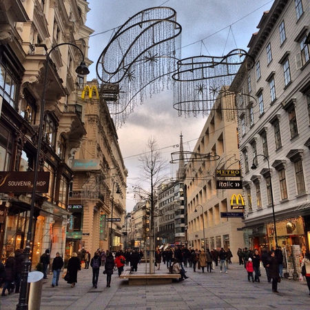 Exploring the tourist side of Vienna in 10 hours