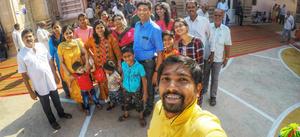 Family Trip To Shegaon (Buldhana, Maharashtra)