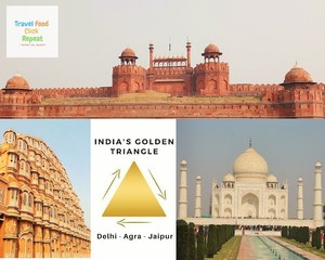 India's Golden Triangle - Travel Food Click Repeat