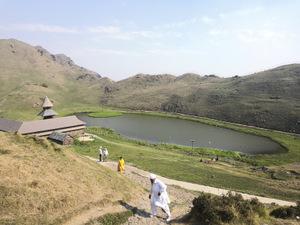 Trek To The Mystic Blue Lake In The Himalayas!-Prashar Lake