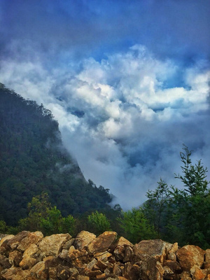 South India's town of clouds: Vattakanal