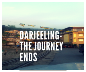 Dingy, Crowded and High Spirited- Darjeeling, the journey ends!