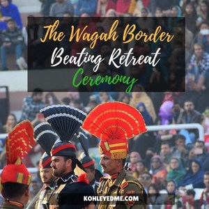 The Wagah Border Ceremony Will Give You Goosebumps