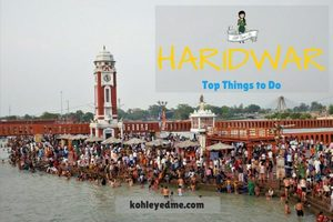An Evening in Haridwar