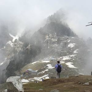 Triund - Day trek from Mcleodganj