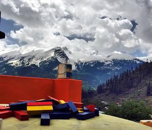 Tosh - the pinnacle village across Parvati river