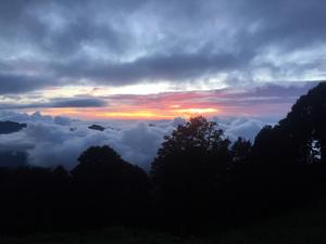 A Golden Ticket- the canvas of Hathu peak