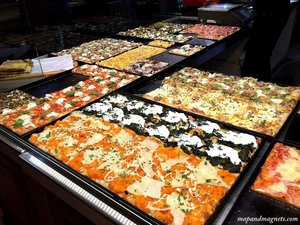 Culinary heaven in Rome: Veggie Pizza, Artisanal Gelato & Coffee