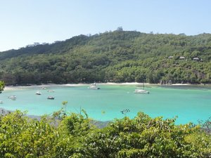 Island hopping in the beautiful Seychelles