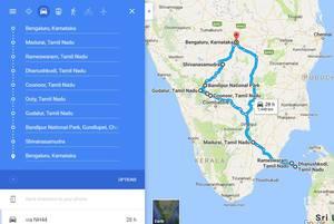 Bike Trip: Southern India