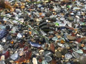 Glass Beach California- MacKerricher State Park. Trash to State Treasure.