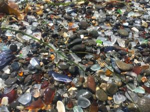 Glass Beach California- MacKerricher State Park. Trash to State Treasure.