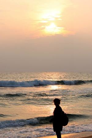 A Walk Down The Varkala Beach: Kerala