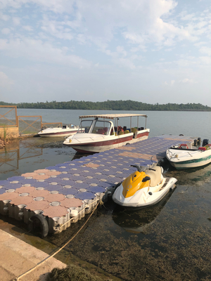 Speed Boat ride to the Sailani Island Resort Madhya Pradesh
