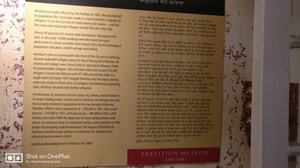 World's first Partition Museum. | R D Mathur