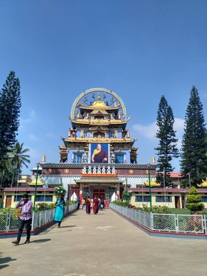 Namdroling Monastery Golden Temple 1/undefined by Tripoto