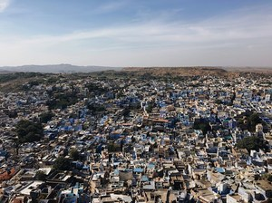 This Magical Blue City in the Middle of a Desert Will Take Your Breath Away