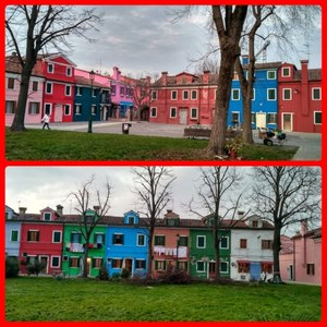 Do you know reason behind these colorful houses in Burano, Venice ..??