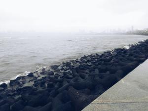 Monsoon at Marine Drive