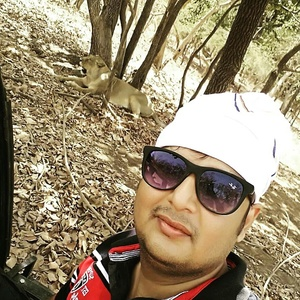 "#SelfieWithAView #TripotoCommunity selfie with lion at Gir national park "" home of asiatic lions"""