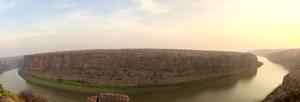 GANDIKOTA - Experience sunrise near a canyon. - BIKERRER