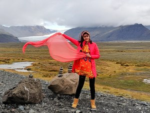What to wear in Iceland - August September months