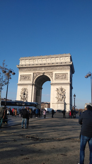 Paris Sightseeing in a Day-Walking Tour Part 1 #photosabroad
