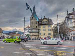 A day in ever charming Lucerne - SCATTERED EXPRESSIONS...